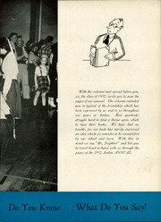 Page 9, 1952 Edition, Avalon High School - Annual Yearbook (Avalon, PA) online yearbook collection