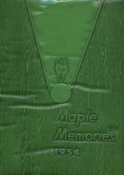 1954 Edition, Dayton Joint High School - Maple Memories Yearbook (Dayton, PA)