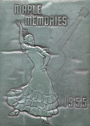 1955 Edition, Dayton Joint High School - Maple Memories Yearbook (Dayton, PA)
