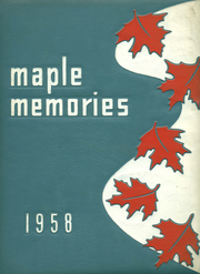 1958 Edition, Dayton Joint High School - Maple Memories Yearbook (Dayton, PA)
