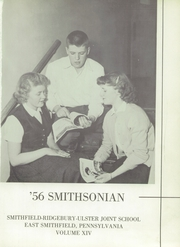 Page 5, 1956 Edition, Smithfield Ridgebury Ulster High School - Smithsonian Yearbook (East Smithfield, PA) online yearbook collection