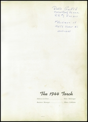 Page 5, 1944 Edition, North Union High School - Torch Yearbook (Uniontown, PA) online yearbook collection