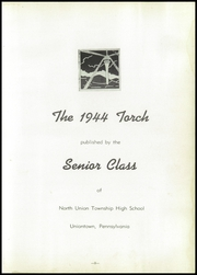 Page 7, 1944 Edition, North Union High School - Torch Yearbook (Uniontown, PA) online yearbook collection