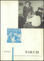 Page 5, 1954 Edition, North Union High School - Torch Yearbook (Uniontown, PA) online yearbook collection