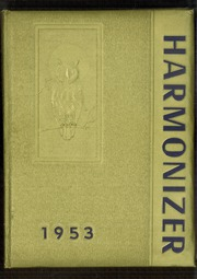 Harmony Area High School - Harmonizer Yearbook (Westover, PA) online yearbook collection, 1953 Edition, Page 1