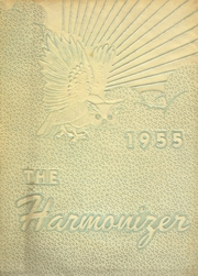 Harmony Area High School - Harmonizer Yearbook (Westover, PA) online yearbook collection, 1955 Edition, Page 1