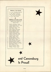 Page 13, 1945 Edition, Canonsburg High School - Canon Log Yearbook (Canonsburg, PA) online yearbook collection