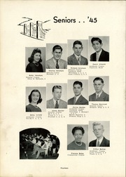 Page 16, 1945 Edition, Canonsburg High School - Canon Log Yearbook (Canonsburg, PA) online yearbook collection