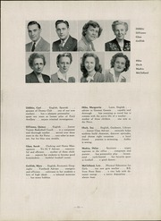 Page 15, 1947 Edition, Canonsburg High School - Canon Log Yearbook (Canonsburg, PA) online yearbook collection