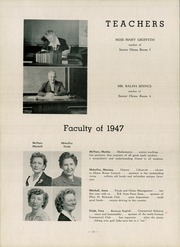 Page 16, 1947 Edition, Canonsburg High School - Canon Log Yearbook (Canonsburg, PA) online yearbook collection