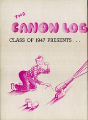 Page 6, 1947 Edition, Canonsburg High School - Canon Log Yearbook (Canonsburg, PA) online yearbook collection