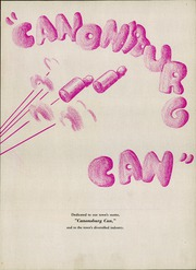 Page 7, 1947 Edition, Canonsburg High School - Canon Log Yearbook (Canonsburg, PA) online yearbook collection