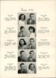 Page 17, 1950 Edition, Trafford High School - Reflector Yearbook (Trafford, PA) online yearbook collection