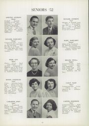 Page 14, 1952 Edition, Trafford High School - Reflector Yearbook (Trafford, PA) online yearbook collection