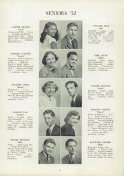 Page 15, 1952 Edition, Trafford High School - Reflector Yearbook (Trafford, PA) online yearbook collection