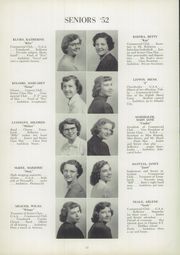 Page 16, 1952 Edition, Trafford High School - Reflector Yearbook (Trafford, PA) online yearbook collection