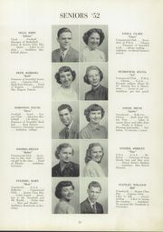 Page 17, 1952 Edition, Trafford High School - Reflector Yearbook (Trafford, PA) online yearbook collection