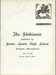 Page 5, 1954 Edition, Glassport High School - Glahisean Yearbook (Glassport, PA) online yearbook collection