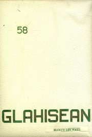 1958 Edition, Glassport High School - Glahisean Yearbook (Glassport, PA)