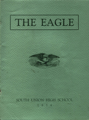 1934 Edition, South Union High School - Eagle Yearbook (Uniontown, PA)