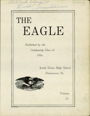 Page 3, 1936 Edition, South Union High School - Eagle Yearbook (Uniontown, PA) online yearbook collection
