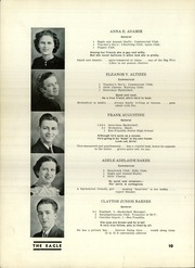 Page 12, 1937 Edition, South Union High School - Eagle Yearbook (Uniontown, PA) online yearbook collection