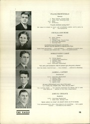 Page 14, 1937 Edition, South Union High School - Eagle Yearbook (Uniontown, PA) online yearbook collection