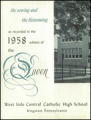 Page 6, 1958 Edition, West Side Central Catholic High School - Queen Yearbook (Kingston, PA) online yearbook collection