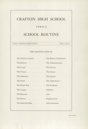Page 13, 1937 Edition, Crafton High School - Ginkgo Yearbook (Crafton, PA) online yearbook collection
