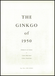 Page 7, 1950 Edition, Crafton High School - Ginkgo Yearbook (Crafton, PA) online yearbook collection