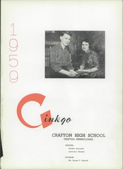 Page 8, 1959 Edition, Crafton High School - Ginkgo Yearbook (Crafton, PA) online yearbook collection