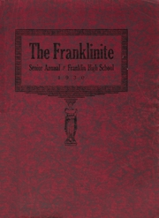 Franklin High School - Franklinite Yearbook (Franklin, PA) online yearbook collection, 1930 Edition, Page 1