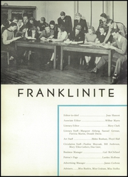 Page 10, 1940 Edition, Franklin High School - Franklinite Yearbook (Franklin, PA) online yearbook collection
