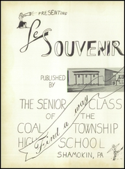 Page 6, 1949 Edition, Coal Township High School - Le Souvenir Yearbook (Coal Township, PA) online yearbook collection