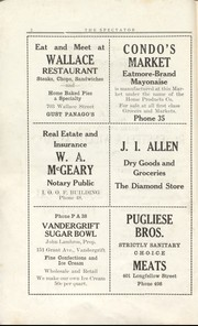 Page 4, 1925 Edition, Vandergrift High School - Spectator Yearbook (Vandergrift, PA) online yearbook collection