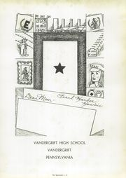 Page 7, 1944 Edition, Vandergrift High School - Spectator Yearbook (Vandergrift, PA) online yearbook collection