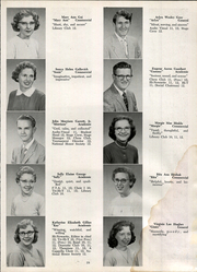 Page 21, 1958 Edition, Vandergrift High School - Spectator Yearbook (Vandergrift, PA) online yearbook collection