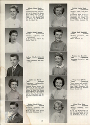 Page 22, 1958 Edition, Vandergrift High School - Spectator Yearbook (Vandergrift, PA) online yearbook collection