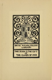 Page 2, 1933 Edition, Bryn Mawr College - Bryn Mawr Yearbook (Bryn Mawr, PA) online yearbook collection