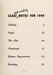 Page 11, 1949 Edition, Bryn Mawr College - Bryn Mawr Yearbook (Bryn Mawr, PA) online yearbook collection