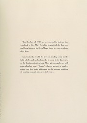 Page 9, 1949 Edition, Bryn Mawr College - Bryn Mawr Yearbook (Bryn Mawr, PA) online yearbook collection