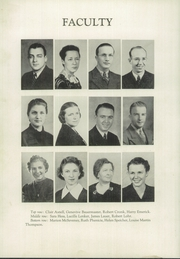 Page 12, 1939 Edition, Shanksville Stonycreek High School - Chicahonian Yearbook (Shanksville, PA) online yearbook collection