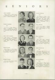 Page 16, 1939 Edition, Shanksville Stonycreek High School - Chicahonian Yearbook (Shanksville, PA) online yearbook collection