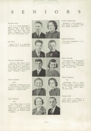 Page 17, 1939 Edition, Shanksville Stonycreek High School - Chicahonian Yearbook (Shanksville, PA) online yearbook collection