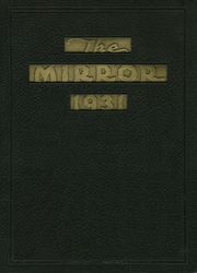 Page 1, 1931 Edition, Cooper High School - Mirror Yearbook (Shenandoah, PA) online yearbook collection