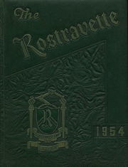 1954 Edition, Rostraver High School - Rostravette Yearbook (Belle Vernon, PA)