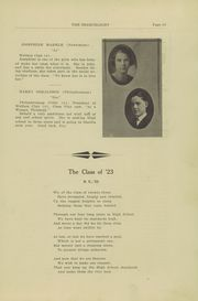 Page 15, 1923 Edition, West Newton High School - Searchlight Yearbook (West Newton, PA) online yearbook collection