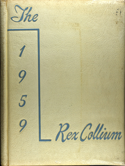 1959 Edition, Jenner Boswell Joint High School - Rex Collium Yearbook (Boswell, PA)