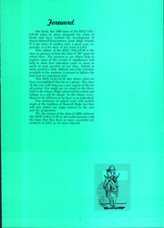 Page 7, 1960 Edition, Jenner Boswell Joint High School - Rex Collium Yearbook (Boswell, PA) online yearbook collection