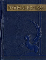 Page 1, 1933 Edition, Ambler High School - Pinnacle Yearbook (Ambler, PA) online yearbook collection